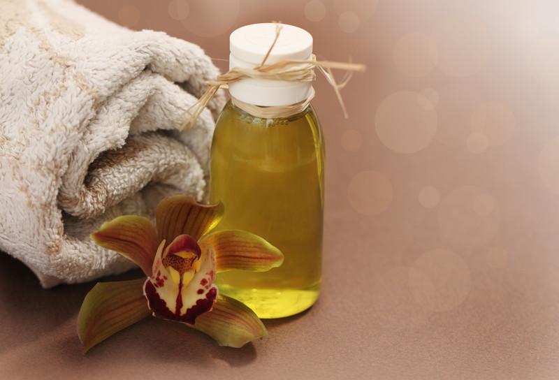 Olio per massaggio