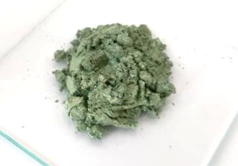 Polvere Mica 007 verde, ombretto o fard