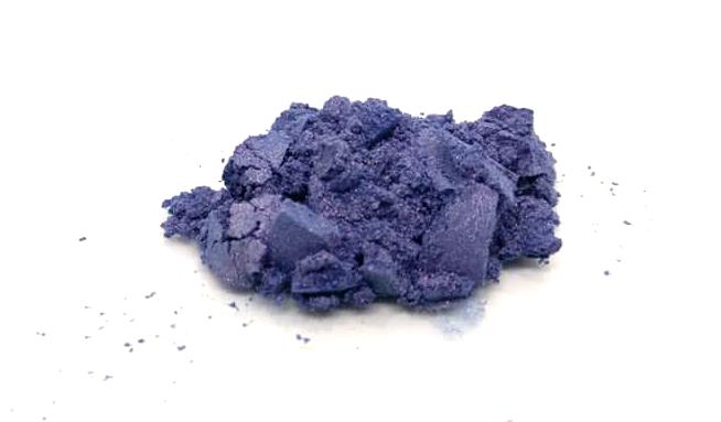 Polvere Mica 66 viola, ombretto o fard