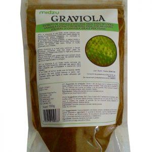 Graviola in polvere Midzu - 100 grammi - Senza Glutine