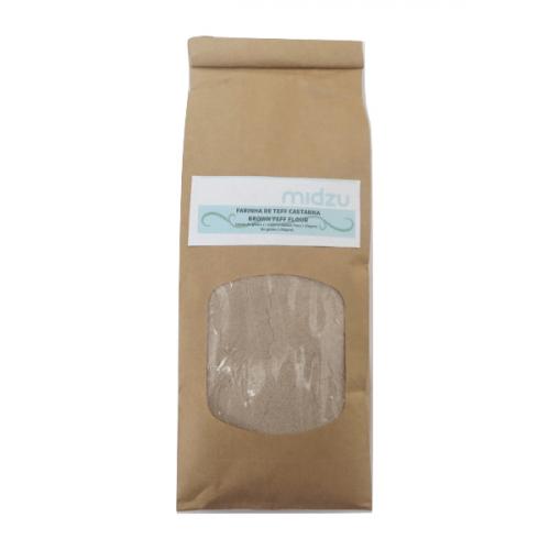 Farina di Teff Scura Senza Glutine della Midzu 500 grammi