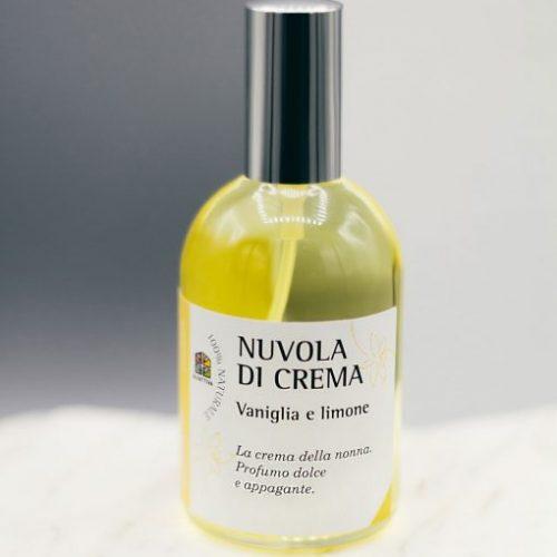 Nuvola di Crema. Olfattiva, profumo naturale Vaniglia & Limone della Olfattiva 115 ml