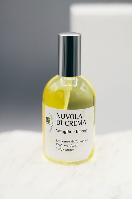 Nuvola di Crema. Olfattiva, profumo naturale Vaniglia & Limone 115 ml