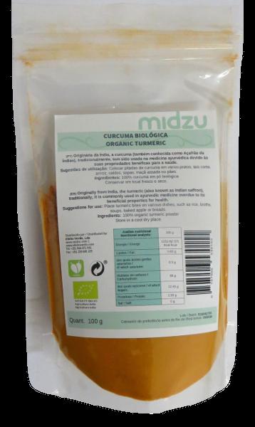 Curcuma Biologica Midzu - 100 grammi