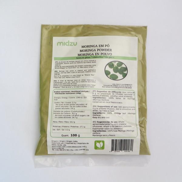Polvere di Moringa Midzu - 500 grammi