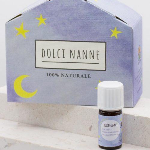 """""""Dolci Nanne"""", sinergia rilassante di oli essenziali 100% puri 5 ml per bambini ed adulti della Olfattiva"""