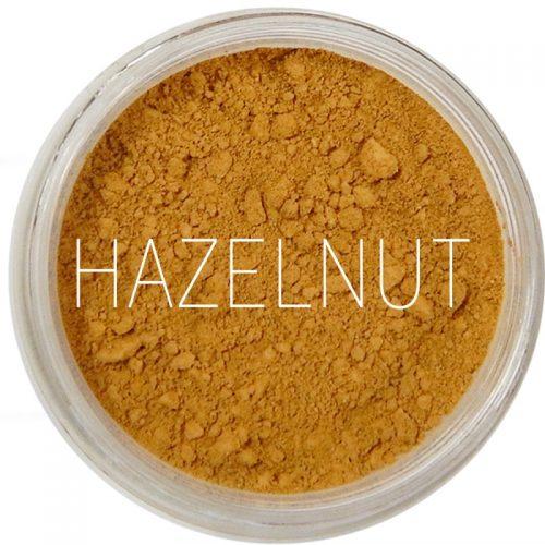 Mini Fondotinta Minerale Polvere Libera PHB + SPF30, tonalità Hazelnut