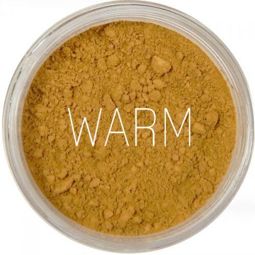 Mini Fondotinta Minerale Polvere Libera PHB + SPF30, tonalità Warm