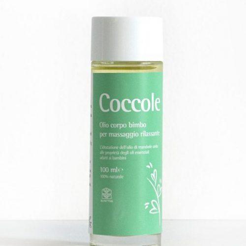 Olio corpo bimbo per massaggio rilassante Coccole della Olfattiva 100ml