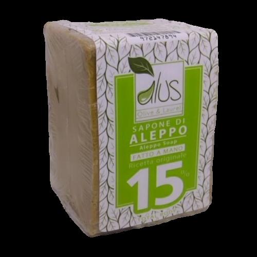 Sapone di Aleppo 15% della Alus