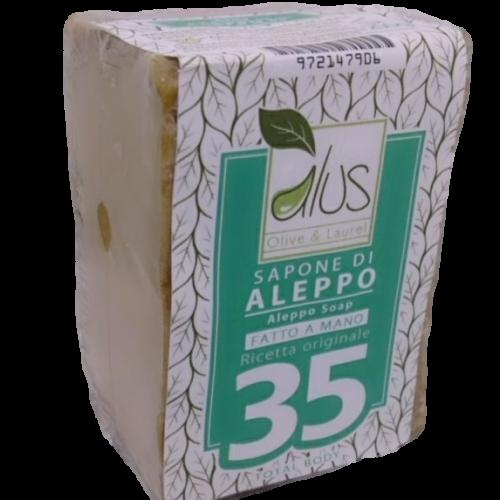 Sapone di Aleppo 35% della Alus