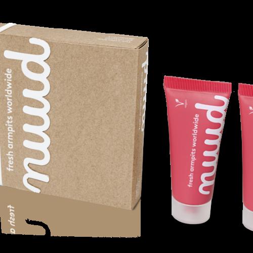 Deodorante Nuud Smarter Pack rosa 2 x 20 ml