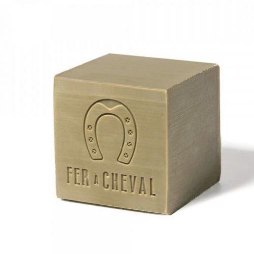 Cubetto di Sapone di Marsiglia Olive 72% della Fer à Cheval 300g