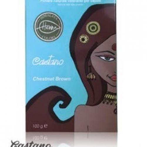 Himalaya Henna colors, Castano 100g
