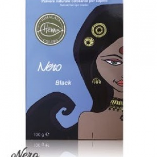 Himalaya Henna colors, Nero 100g