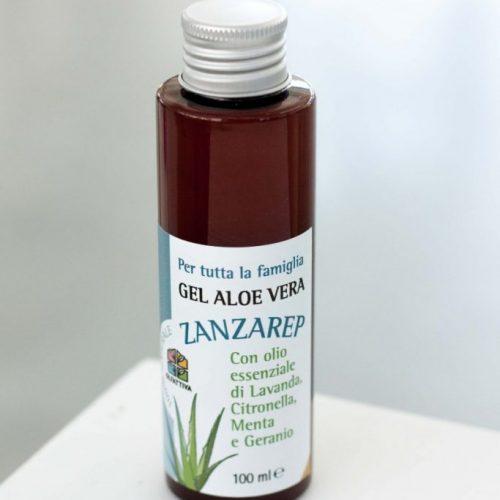 Aloe Vera Gel Biologico Zanzarep 100 ml della Olfattiva