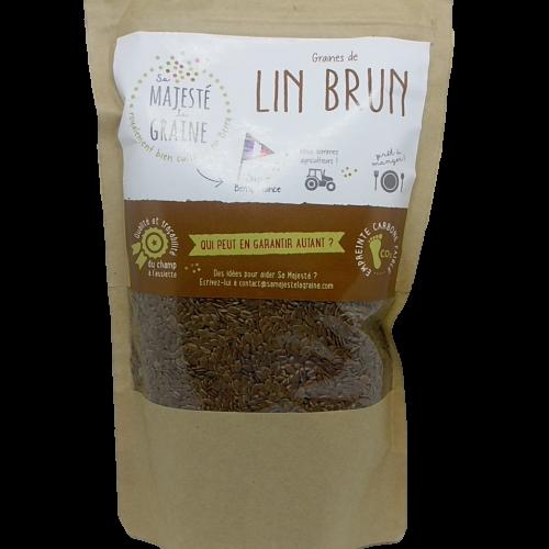 Semi di Lino senza glutine della SAS Berry Graines 350g