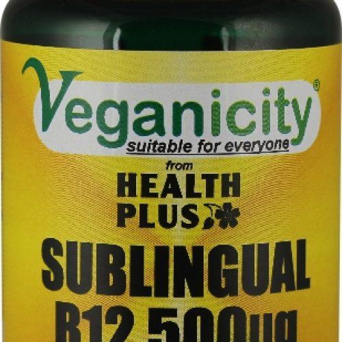 Vitamina B12 sublinguale 500µg della Veganicity