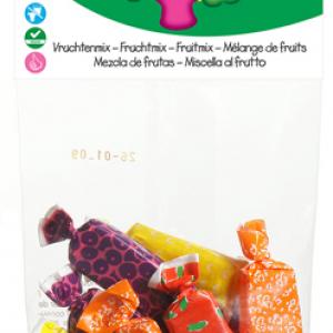 Caramelle Mou Biologiche alla Frutta Mista 75 g della Candy Tree