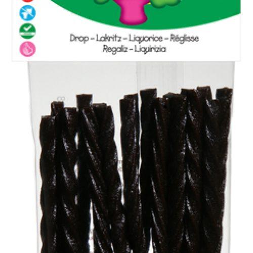 Bastoncini di liquirizia dolce Biologici Senza Glutine 75g della Candy Tree