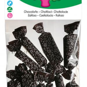 Caramelle Mou Biologiche al Cioccolato 75 g della Candy Tree