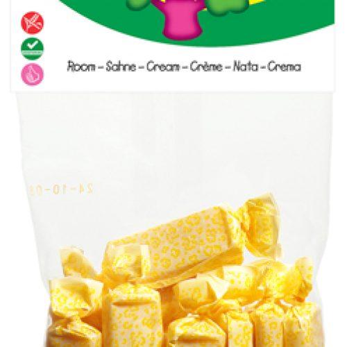 Caramelle Mou Biologiche alla Panna 75 g della Candy Tree