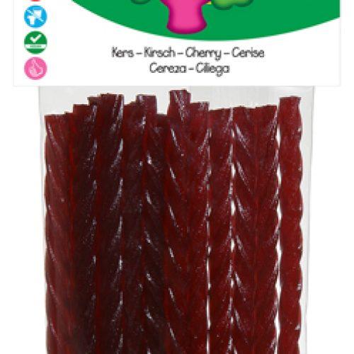 Bastoncini di Ciliegia Biologici Senza Glutine 75g della Candy Tree