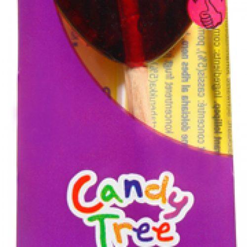 Lecca lecca biologico al ribes nero 12 g della Candy Tree
