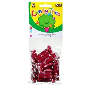 Caramelle Mou Biologiche alle Ciliegia 75 g della Candy Tree