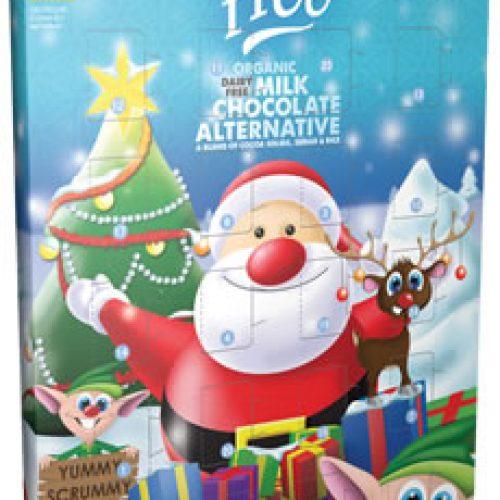 Calendario dell'Avvento con cioccolatini biologici senza glutine So Free della Plamil