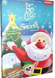 Calendario dell'Avvento Plamil So Free Senza glutine Senza Latte Vegan Famiglia Verde