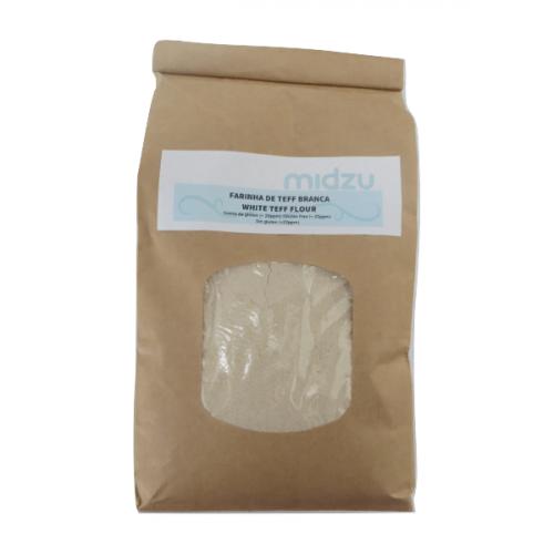 Farina di Teff bianca Senza Glutine della Midzu 1 KG