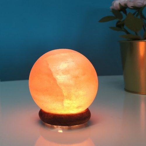 Mini lampada di sale dell'Himalaya USB a sfera della SunChine